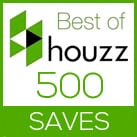 Studio Home Best of Houzz 500 Saves
