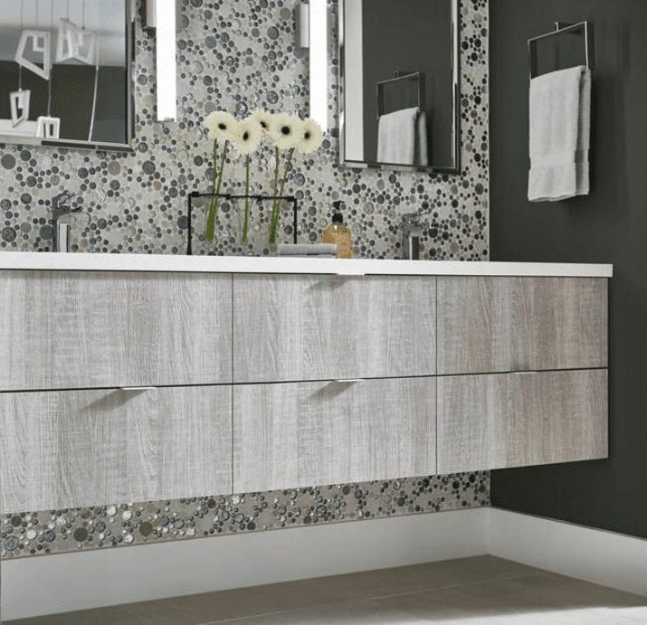 Bath silhouettes prebuilt and floating bathroom vanities for sale in Tacoma WA