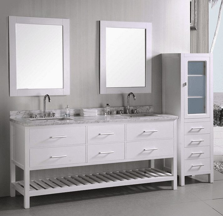 Prebuilt and custom bathroom vanities for sale in Tacoma WA