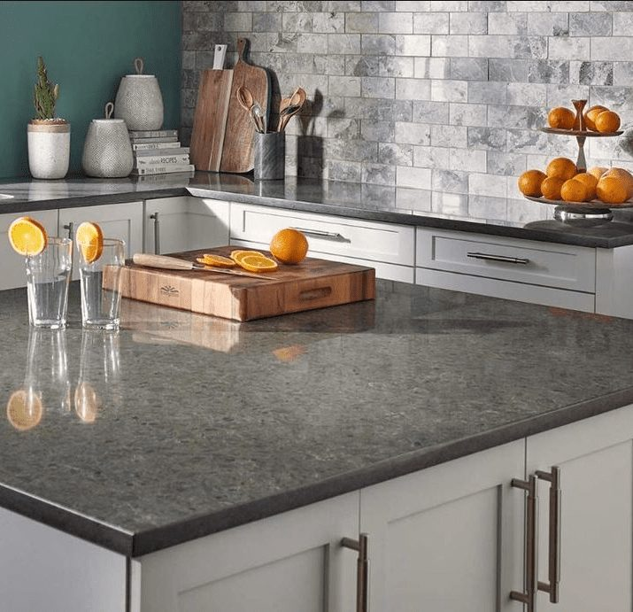 MSI Stone quartz countertops for kitchen remodel