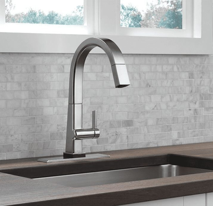 Delta Faucets for kitchen and bathroom remodel in Tacoma WA