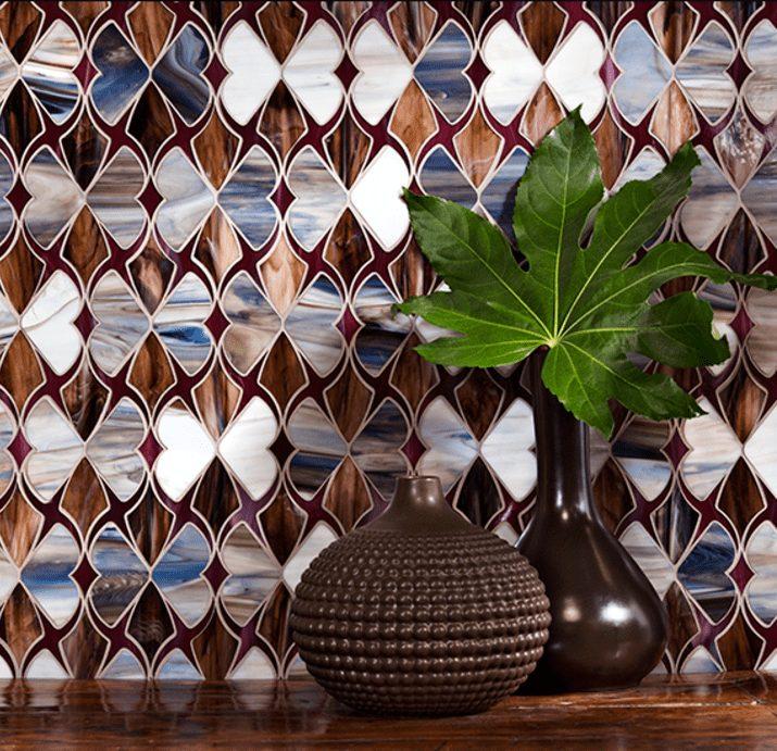 glass tile mosaic tile kitchen or bathroom backsplash for sale in Tacoma WA