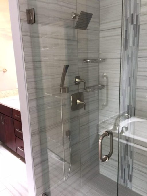 master bathroom remodel in university place wa