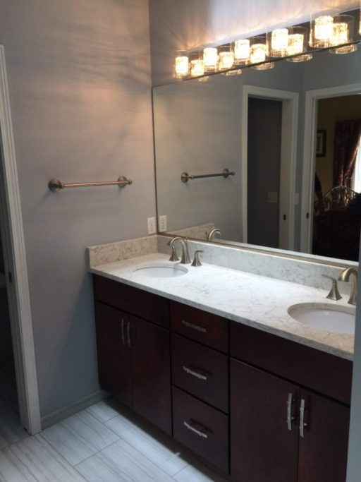 master bathroom remodel in university place washington